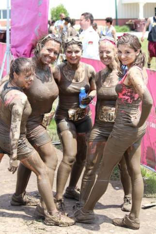 """Dirty Girl Mud Run with """"The Mud Pies"""""""