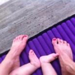 Rain on Toes