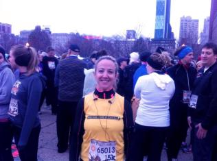 Me at Hot Chocolate 15K