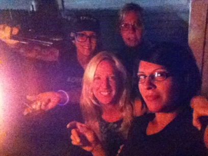 Selfie by the Tiki Torch
