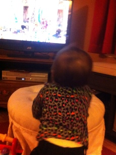 We don't watch much TV, glad she has great taste. Or maybe a need for immunity!