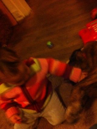 Aww she loves Max